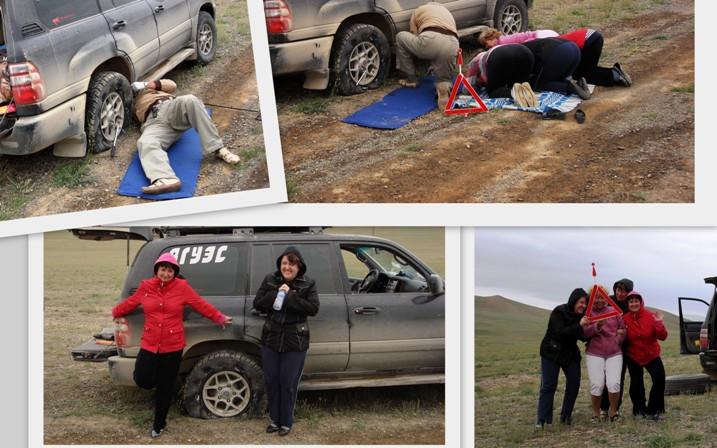 Автопробег по Монголии