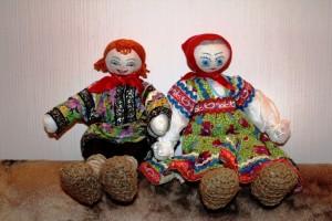 Куклы Тамары Лабузиной