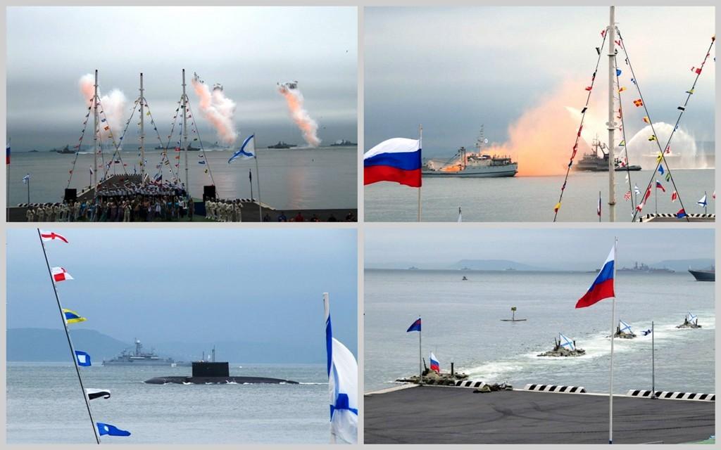 День ВМФ во Владивостоке