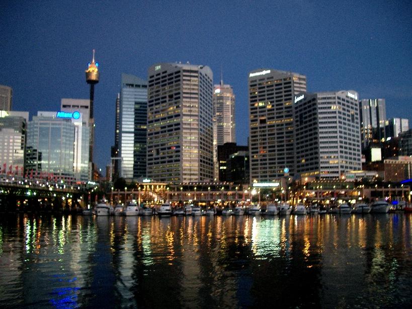 Сидней вечерний