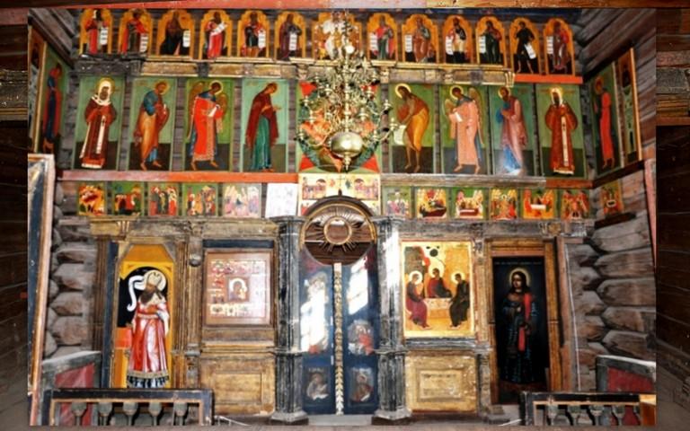 Иконостас Троицкой церкви,Свияжск
