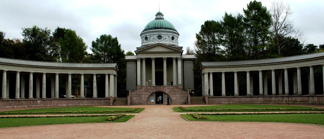 Архангельское, колоннада