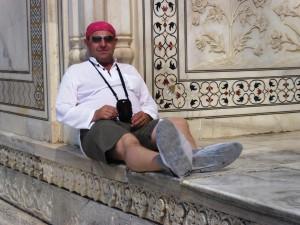 Владимир Егоров в Индии