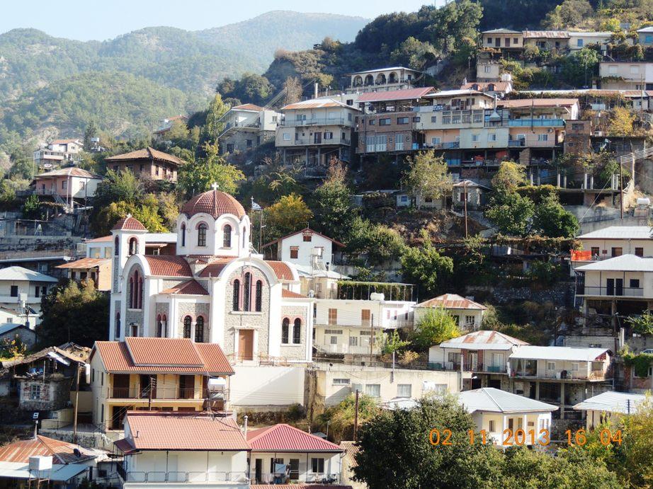 горная деревня Педулас, Кипр