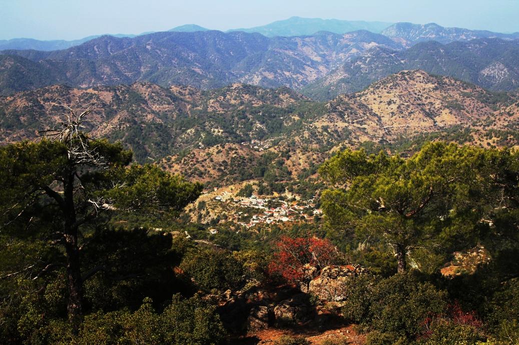 В горах Троодоса, Кипр