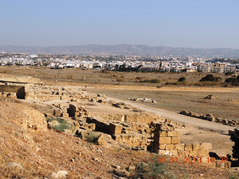 раскопки в Пафосе продолжаются