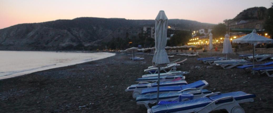 Кипр, пляж Писсури