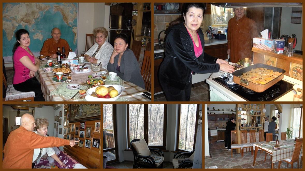 В гостях у Алешиных, Владивосток